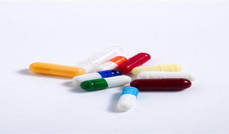 multicolor hard empty capsule