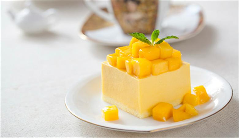 make mango mousse with gelatin