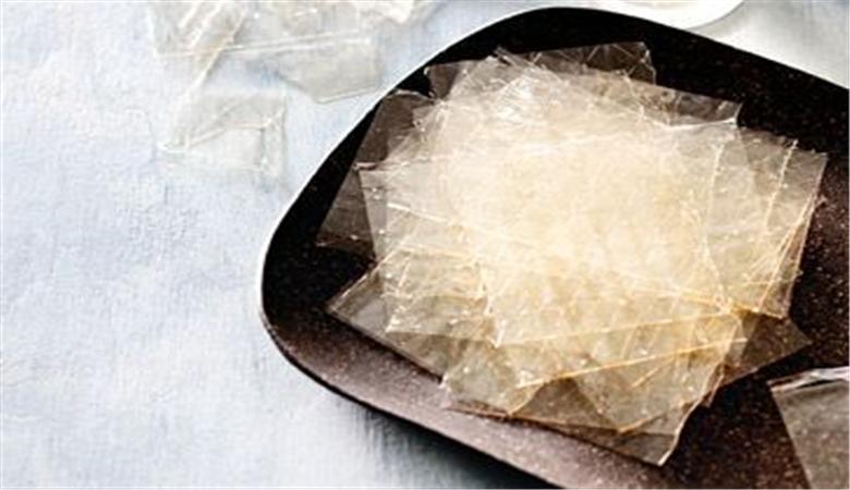 Health benefits of leaf gelatin